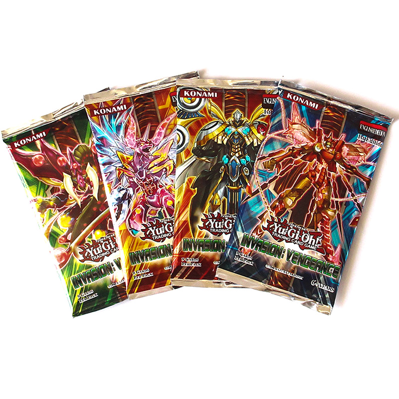 TCG OCG English Yu Gi Oh Board Game Table Cards Toys Collections 216 Cards Deck For Children Christmas Gifts