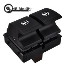 NS Modify Window Control Switch Electronic Power Window Switch Button 1Z0 959 858 For VW SKODA YETI FABIA MK2 OCTAVIA 2 ROOMSTER