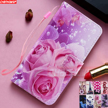 Colorful Luxury Flip Leather Case For Redmi Note 7 6 Pro Redmi K20 Pro 7A 6A Mi9T Mi CC9 CC9E 9 8 SE A2 A3 Lite Wallet Cover(China)