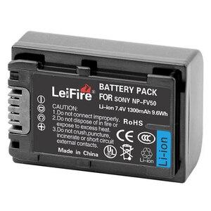 1300mah NP-FV50 Battery For Sony NP-FV30 FV50 FV70 FV90 FV100 FV120 HDR-SR68 DCR-SX85 DCR-SR20E DCR-SR21E HDR-CX190 CX130