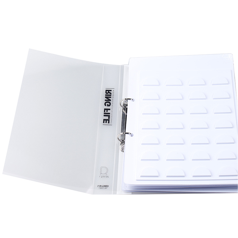70 pairs 3D Eyelash Storage Book Makeup Display Container Eyelashes Sample Catalog Grafting Card