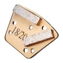 Trapez Metall Bindung Diamant Beton Schleifen Schuh/Segment/Platte Schaber Für Magnetische Platte Foor Grinder 18/20
