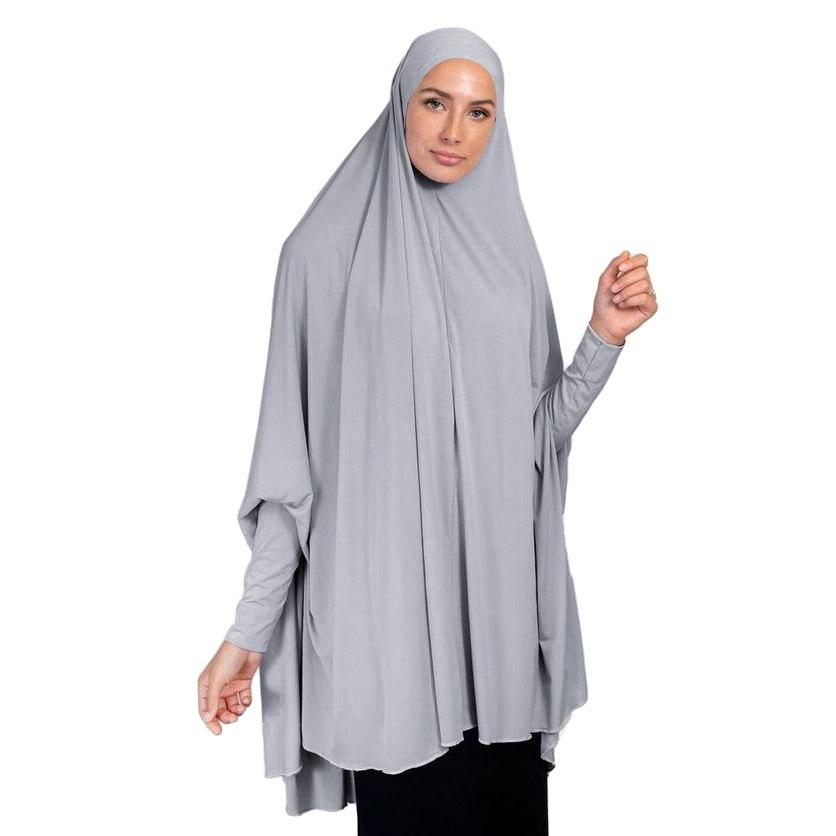 Fashion Muslim Women Large Scarf Hijab Full Cover Prayer Khimar Niqab Burqa Long Oversize Headscarf Islamic Arab Ramadan Clothin Aliexpress