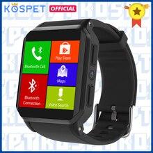 KW06 Uomini di Smart Orologio IP68 Impermeabile Chiamata Bluetooth Heart Rate Monitor WIFI GPS della Macchina Fotografica Smartwatch Android Per Xiaomi IOS phone