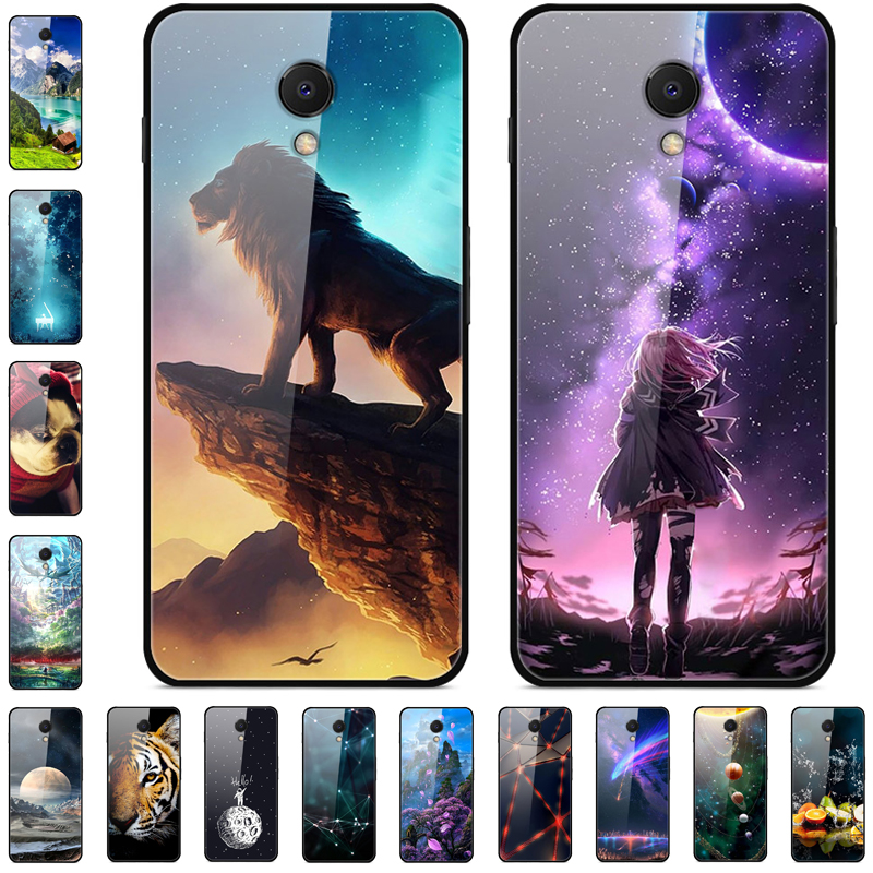 For <font><b>Meizu</b></font> <font><b>M6S</b></font> <font><b>Case</b></font> Tempered Glass Hard Back Cover For <font><b>Meizu</b></font> <font><b>M6S</b></font> Phone <font><b>Case</b></font> Bumper For <font><b>Meizu</b></font> S6 meizus6 <font><b>Cases</b></font> 5.7'' Coque image