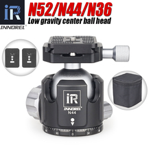 INNOREL N52/N44/N36 tripod başkanı düşük ağırlık merkezi profesyonel panoramik ballhead monopod topu kafa dijital SLR kameralar