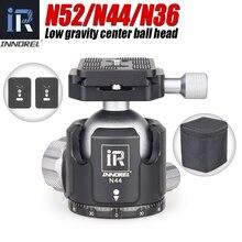 Innorel N52/N44/N36 Statief Hoofd Lage Zwaartepunt Professionele Panoramisch Balhoofd Monopod Balhoofd Voor Digitale Slr camera S