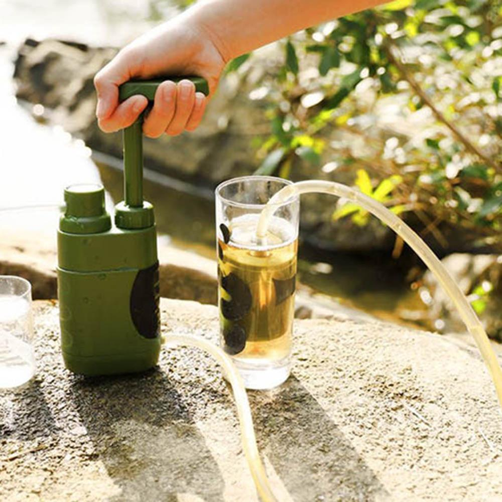 Outdoor Water Purifier Camping  Water Purifier System With 5000 Liters  Emergency Life Survival Portable Purifier Water Filter