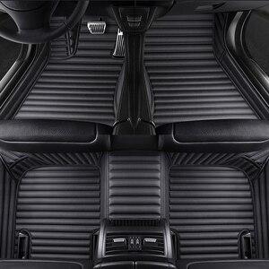 Custom 5 Seat car floor mat for bmw X5 E53 E70 F15 F85 X6 X7 X1 E84 F48 X2 F39 X3 E83 F25 X3 G01 F97 X4 F26 G02 F98 carpet tapis