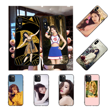Cell-Phone-Case Sunmi Xr Case 6s-Plus iPhone 11 NBDRUICAI for Pro-Xs MAX 5S Lee Black
