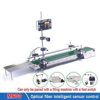 Światłowód inteligentny przenośnik indukcyjny maszyna do napełniania cieczą przenośnik taśmowy inteligentna maszyna do napełniania żywności tanie i dobre opinie comopez CN (pochodzenie)