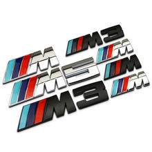 Suitable for BMW New 3 Series 5 Series M3M5M1 car tail label M modified car label metal tail label sticker