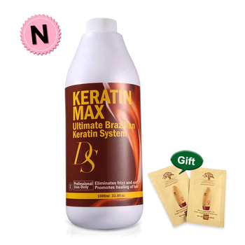 Hot Sale Best Hair Care DS Max 5% Formalin Brazilian Keratin Treatment Straighten and Make Cruly Hair Smoothing Free Shipping hot sale keratin the brazilian hair treatment 1000ml 5% formalin keratin treatment for black hair fedex free shipping