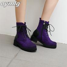 Брендовые новые женские ботинки Осенние британские БОТИНКИ мартинсы