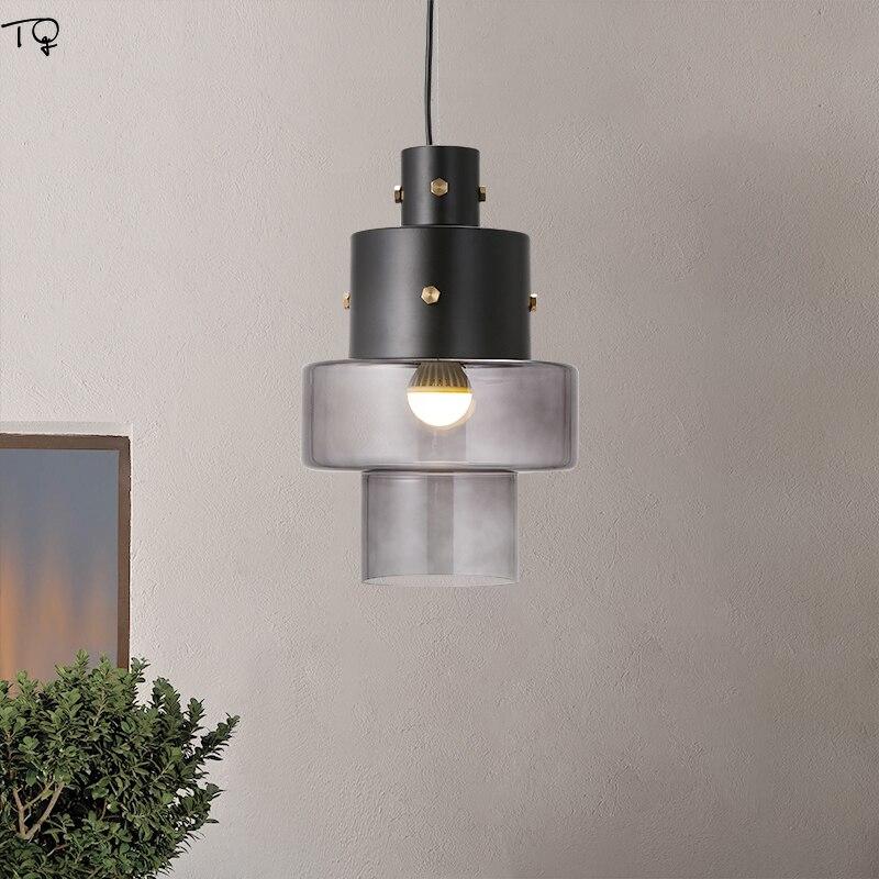 Design italien industriel rétro fer Art verre suspension lumières Diesel Gask concepteur LED lampe suspendue Loft décor Restaurant Studio
