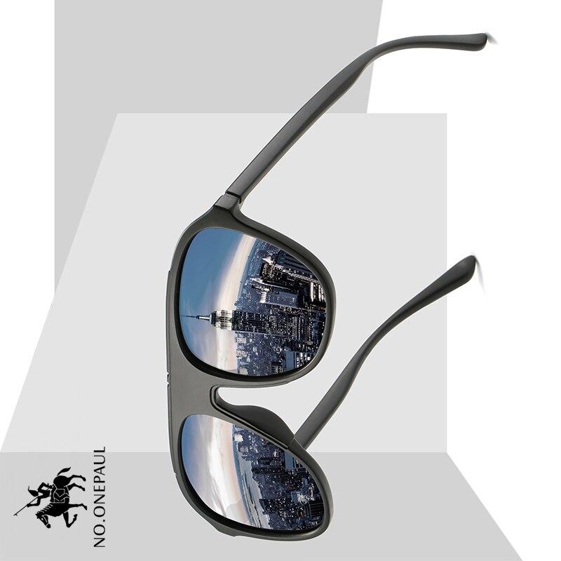 NO.ONEPAUL Shades Men Oculos Masculino Male Men Polarized Sunglasses Aluminum Magnesium Sun Glasses Driving Glasses Rectangle