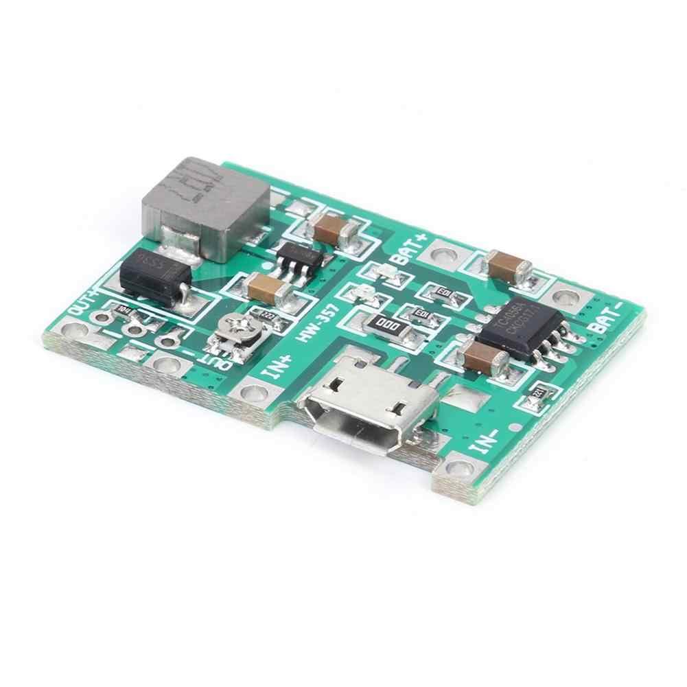 3.7V 9V 5V PCB Regolabile Step Up 18650 Li-Ion Batteria di Scarico di Carica Accumulatori E Caricabatterie Di Riserva a Bordo del Modulo Regolatore di Tensione circuiti