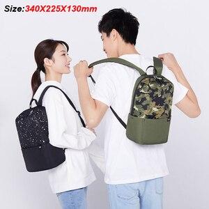 Image 5 - Xiaomi mochila 10l unise, bolsa esportiva unise, urbano, para homens e mulheres, pequena, bolsa de peito 2020