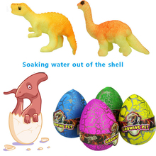 1pcs Cute Magic Hatching Growing Dinosaur Eggs Add Water Growing Dinosaur Novelty Gag Toys For Child Kids Educational Toys Gifts growing dinosaur eggs hatching toys water kids educational novelty