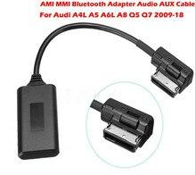AMI MMI Bluetooth Adapter Audio AUX Cable For Audi A4L A5 A6L A8 Q5 Q7 2009-18
