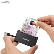 Rocketek USB 2.0 Smart Card Reader CAC Id Bank sim card cloner connector cardreader adapter pc computer laptop accessories