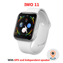 IWO 11 GPS Bluetooth Smart Watch 1:1 SmartWatch 44mm Case for Apple iOS Android