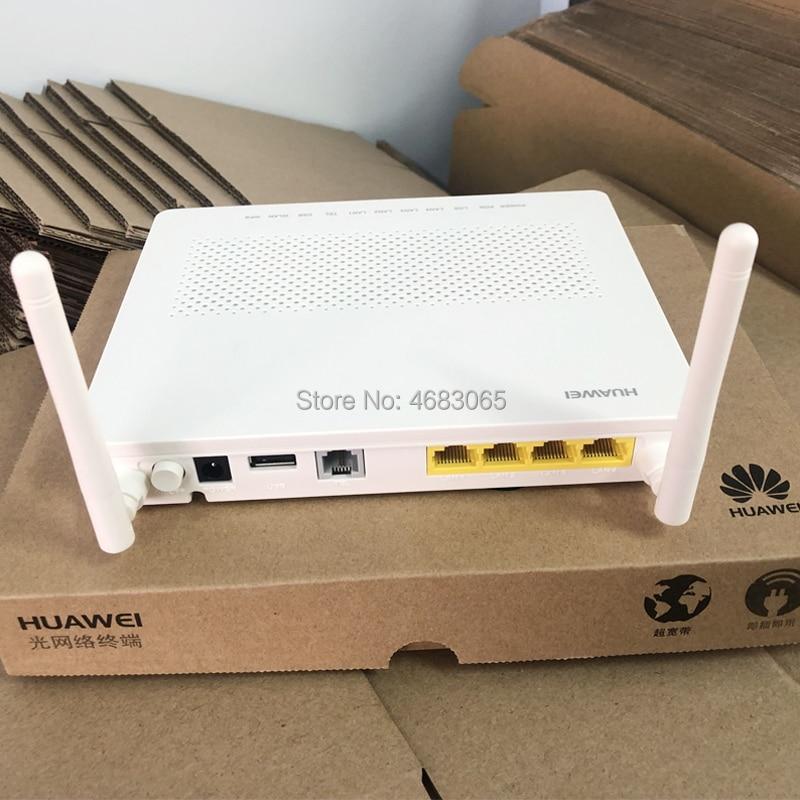 Huawei Optical Network Terminal HG8546M GPON ONU 1GE+3FE+Voice+USB+WIFI English Version 100% New Fiber Optic Network Router