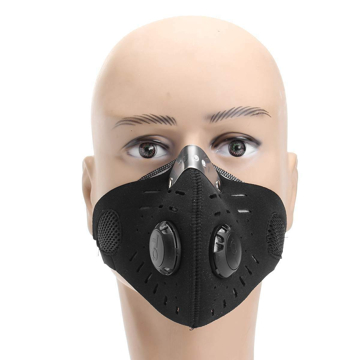 Image 3 - Activated Carbon Masks Dustproof Face Mask Black Men Women Muffle Outdoor Cycling Mouch MasksWomens Masks