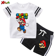 Children Clothing Sets Summer Baby Clothes for Girls Cotton Child Ourfits 2PCS T