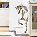 Большая 60*110 см креативная картина, лошадь, домашнее украшение, Настенная Наклейка с животным, постеры для гостиной, спальни, виниловые насте...