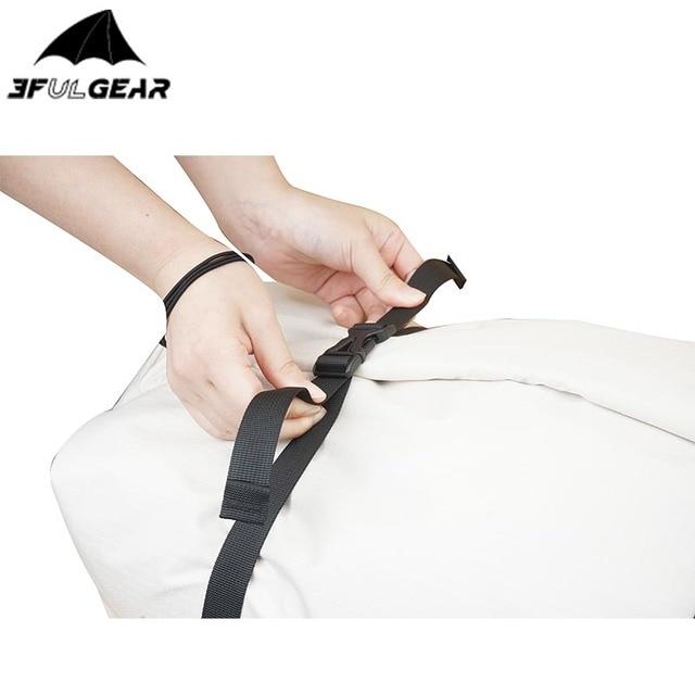 3F UL GEAR Travel Storage Bag 35L-73L Foldable Large Duffel Handbag  5