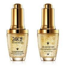Bioaqua 24k ouro umidade tensa essência ácido hialurônico puro soro anti-rugas ouro nicotinamida essência de cuidados com a pele líquida