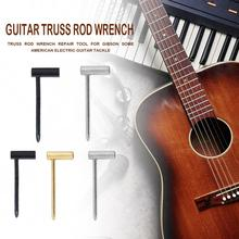 6.35mm/8mm Truss Rod Hex Box Wrench Ballad Guitar Neck Adjustment Tool Iron 6.35mm/8mm Gold Silver Black Guitar Wrench цены