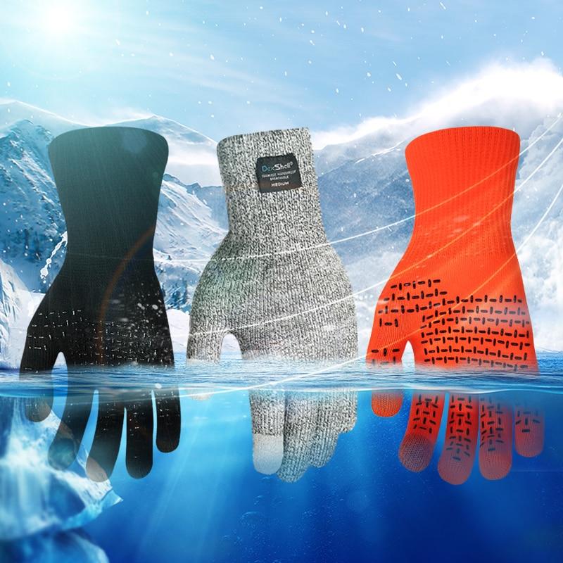Waterproof Winter Warm Gloves Ski Gloves Snowboard Gloves Motorcycle Riding Winter Touch Screen Snow Windstopper Glove Dexshell