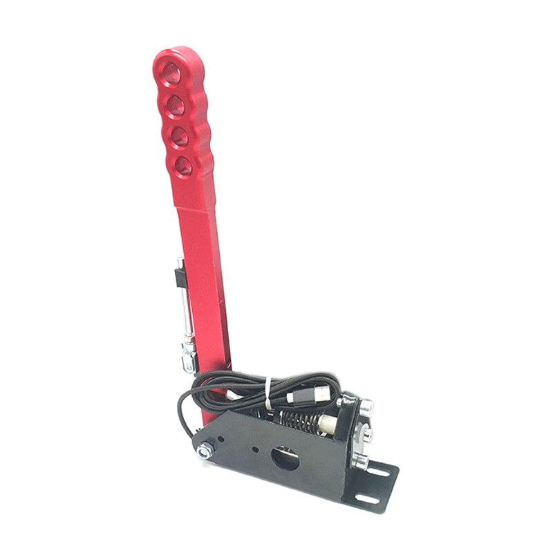 Universal Handbrake For Pc Sim Racing Sim Racing Game Plug And Play Sim Rig-Red