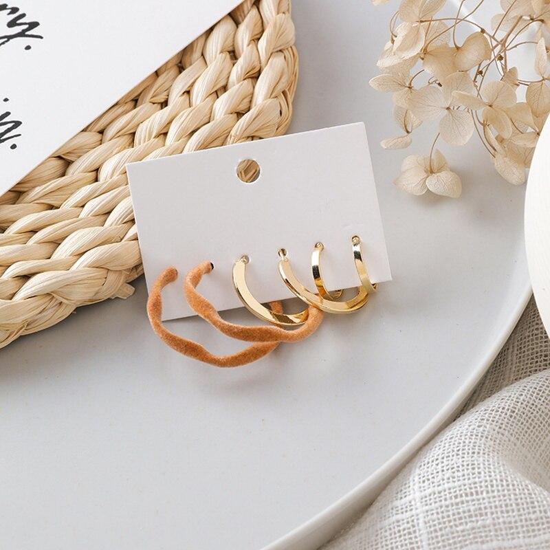 Женские акриловые геометрические кольца mengjiqiao новые простые