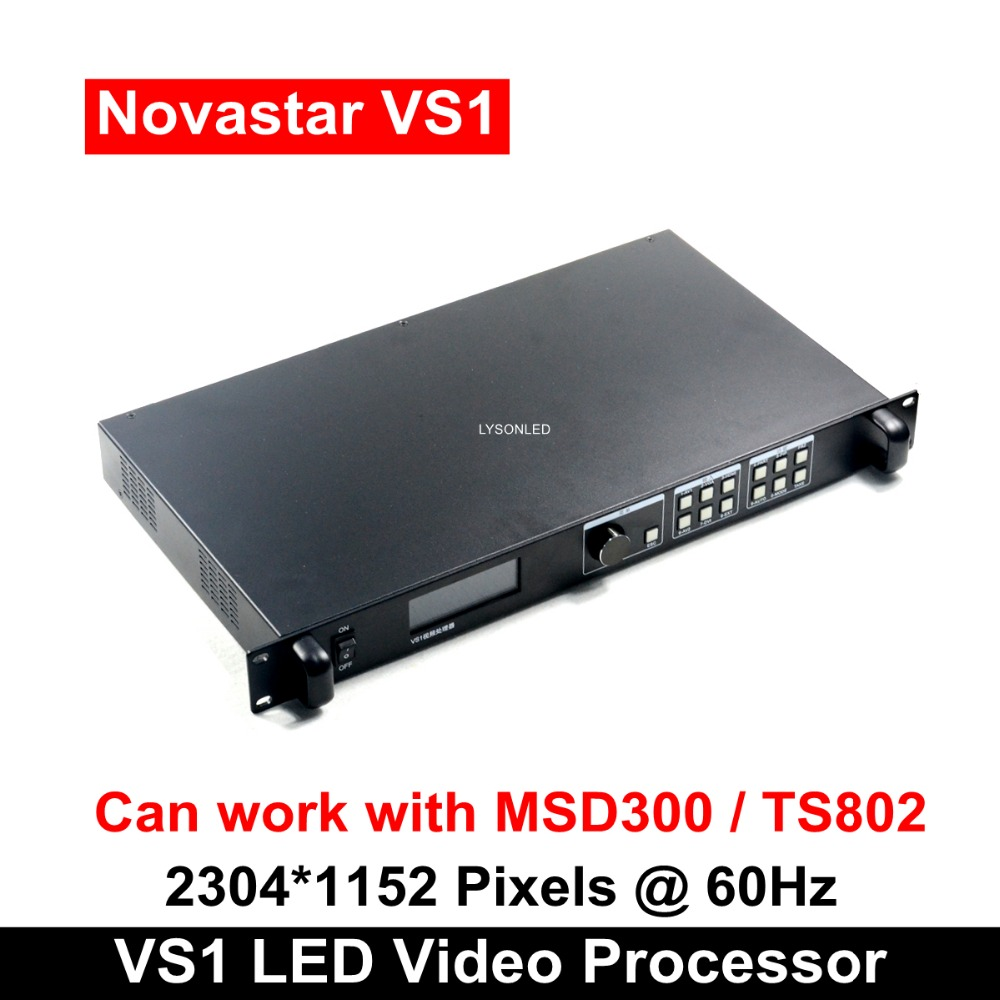 Novastar VS1 Professional LED HD Video Processor Compatible With MSD300 TS802 S2 Sending Card