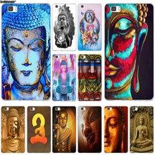 Buda Buddha Soft TPU Silicon Mobile Phone Cases for Huawei P