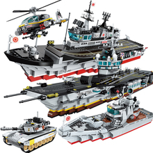 Legoes Military Aircraft Carrier Apache Attack Helicopter Special Forces Bricks Figures Building Blocks Sets Kids