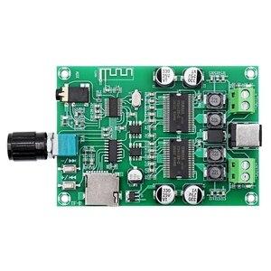 Image 4 - Беспроводная Bluetooth 5,0 аудио стерео цифровая плата усилителя искусственная двухканальная HD 20 Вт + 20 Вт AUX TF карта искусственная карта