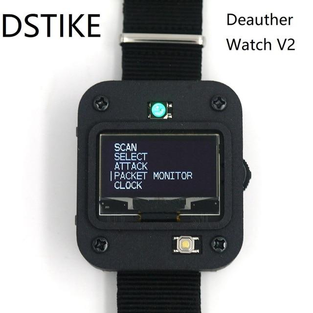 DSTIKE Deauther ساعة V2 ESP8266 برمجة مجلس التنمية