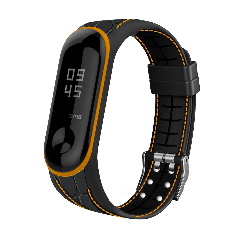For Xiaomi Mi Band 3 4 Strap Bracelet Sport Band Watch Silicone Wrist Strap For Xiaomi Mi Band 3 4 Bracelet Mi Band 4 3 Band