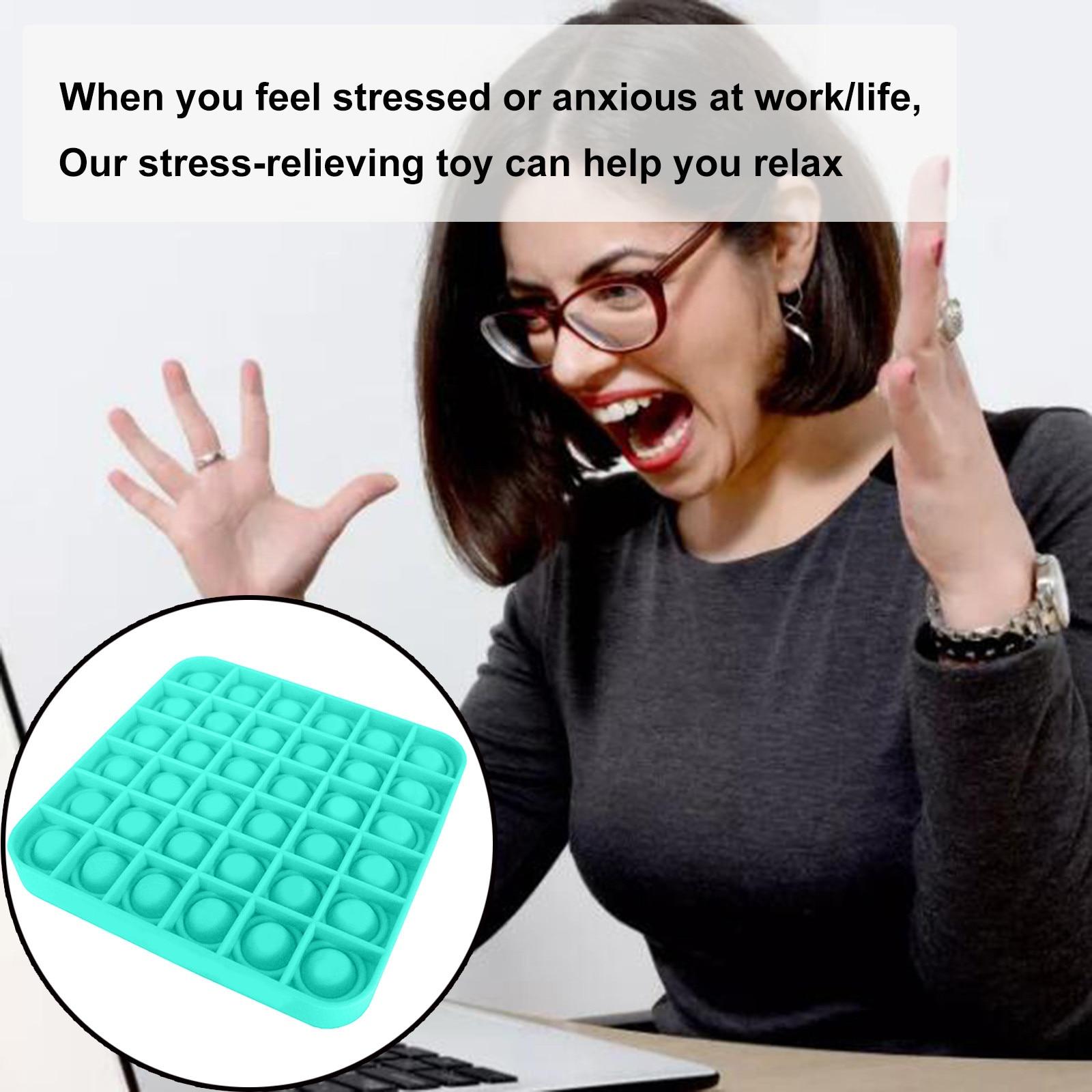 Toys Adult Bubble-Sensory-Toy Autism Reliver-Stress Pops-It-Fidget Squishy Push-Pops img4