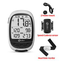 Meilan M2 GPS Bicycle Computer Wireless Speedometer BLE4.0/ANT+ Bike Odometer Speed / Cadence Sensor Heart Rate Monitor Optional|Bicycle Computer| |  -