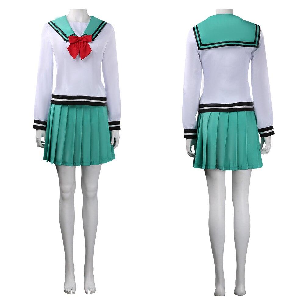 Disfraz de la desastrosa VIDA DE Saiki K Kokomi Teruhashi, Escuela Japonesa, uniformes, Halloween, Carnaval
