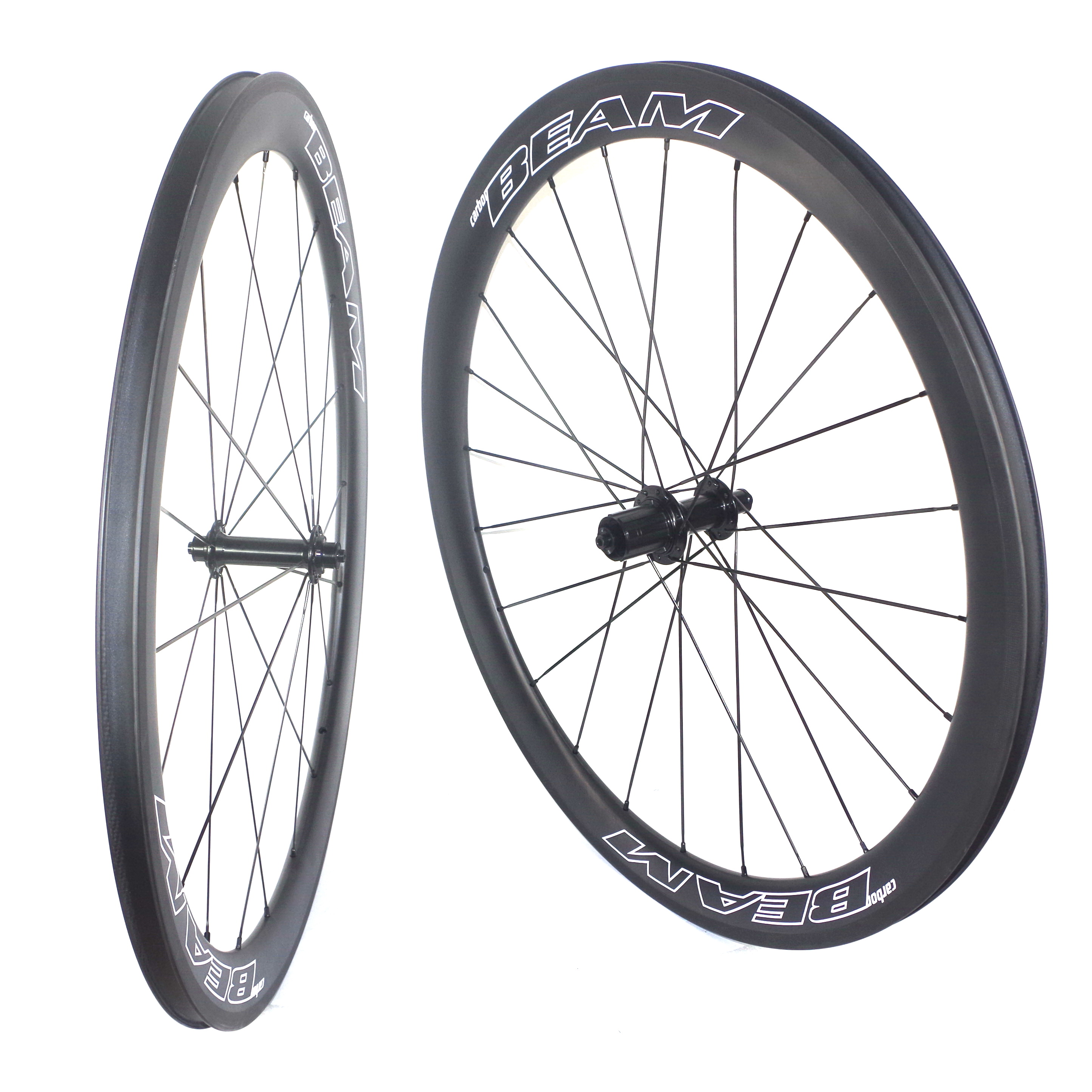 Carbonbeam large 23mm carbone roues 30mm 38mm 45mm 50mm 60mm 88mm carbone roues de vélo 700C route vélo carbone roues