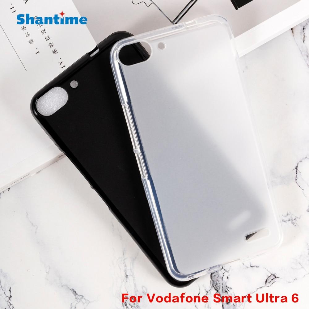Мягкий силиконовый чехол из ТПУ Для Vodafone Smart Ultra 6