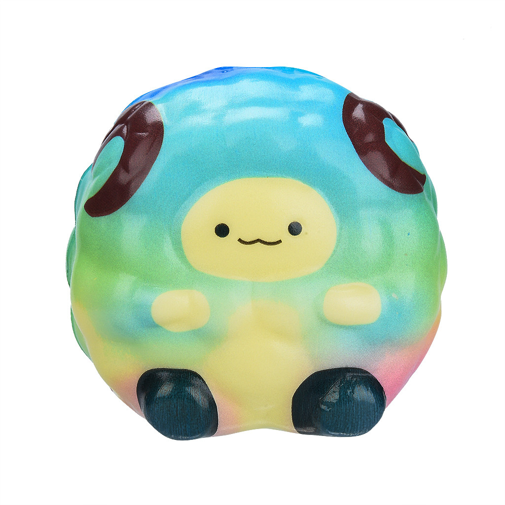 New Squishy Simulation Cartoon Toy Kawaii Adorable Sheep Toy Slow Rising Cream Scented Stress Relief Toys Gifts L1227