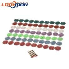 11 шт 1 дюйм колесо для полировки деталей 25 мм радиальный диск