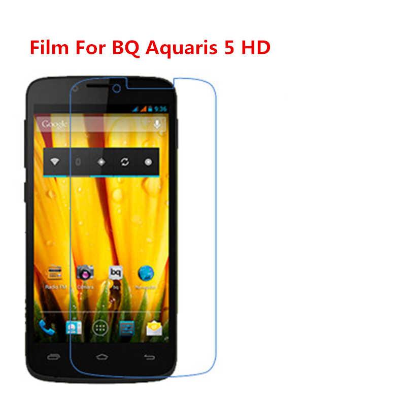 1/2/5/10 Pcs Ultra Thin Klar HD LCD Screen Protector Film Mit Reinigungs Tuch Film für BQ Aquaris 5 HD.